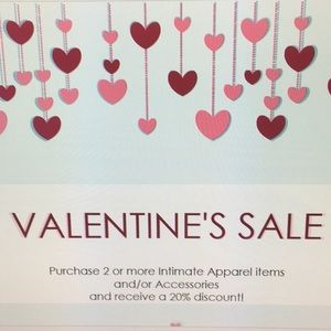 Intimate Apparel and Accessories Sale!